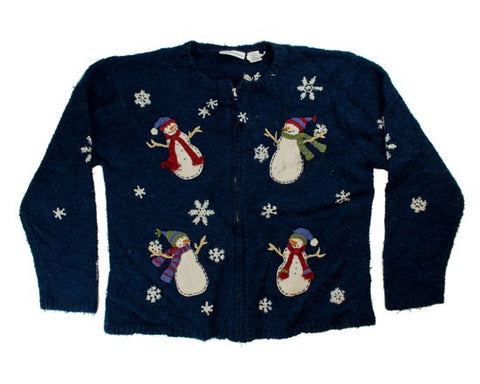 Snow Dance-Small Christmas Sweater