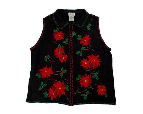Stop And Smell The Flowers-Large Christmas Sweater