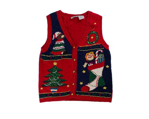 Packed Full Of Joy-Small Christmas Sweater