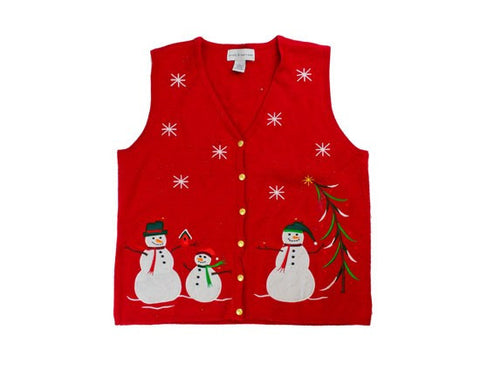 Snow Family-Small Christmas Sweater