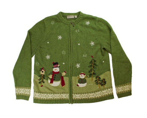 Winter Fun-Small Christmas Sweater