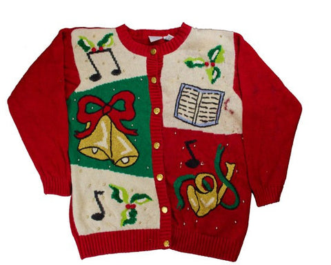 Sound The Bells-Small Christmas Sweater
