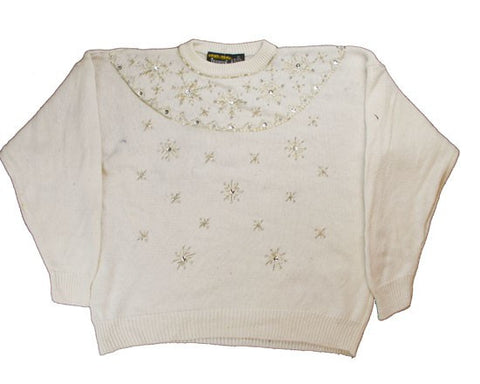 White Christmas-Large Christmas Sweater