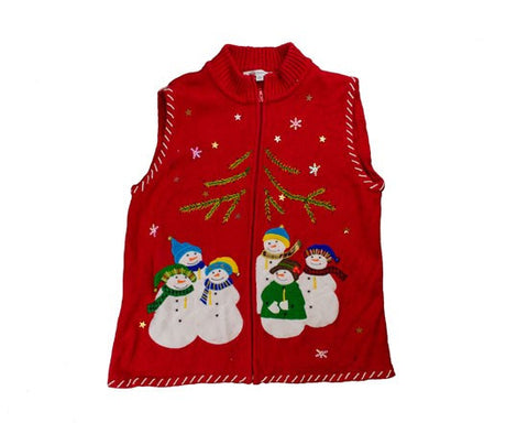 Snow Group-Small Christmas Sweater