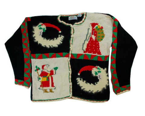 Santa Moon-Small Christmas Sweater
