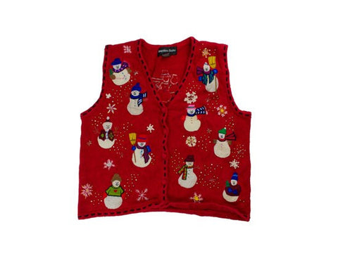 Snow Party-Small Christmas Sweater