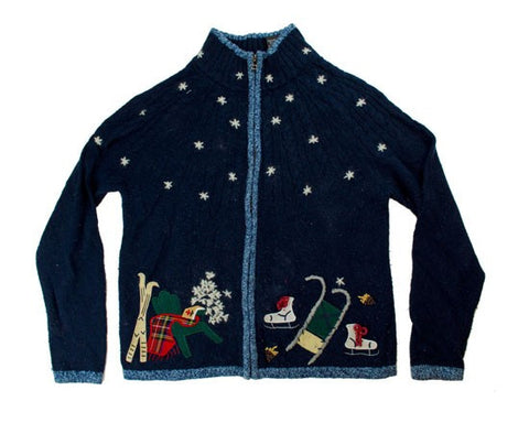 Outdoor Fun-Small Christmas Sweater