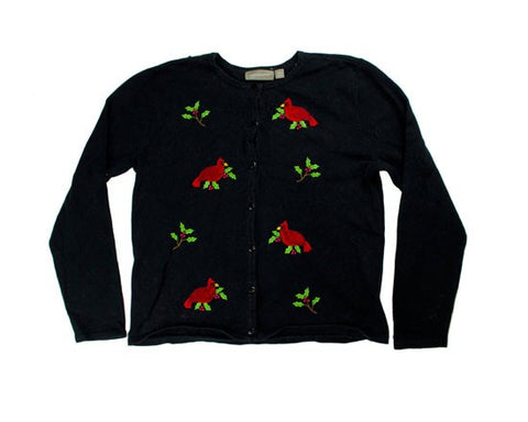 Birds On Watch-x-Small Christmas Sweater