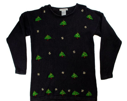 Little Trees-Small Christmas Sweater
