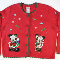 Winnie the Pooh and Friends. Medium size, christmas sweater