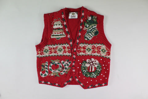 Symbols of Christmas, Small, Christmas sweater