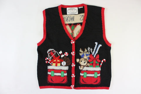 Santa's Workshop. Small, Christmas sweater