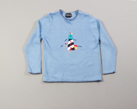Lighthouse Sweater-Medium Christmas Sweater
