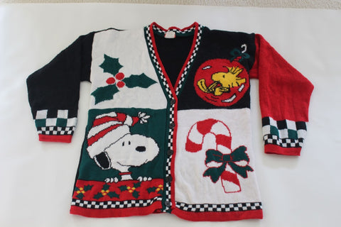 Snoopy and Woodstock,medium, Christmas Sweater