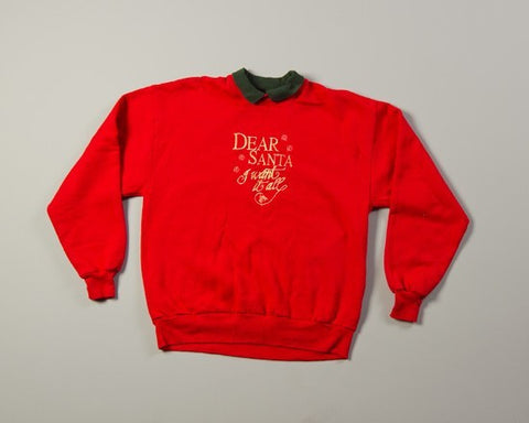 Dear Santa-Large Christmas Sweater