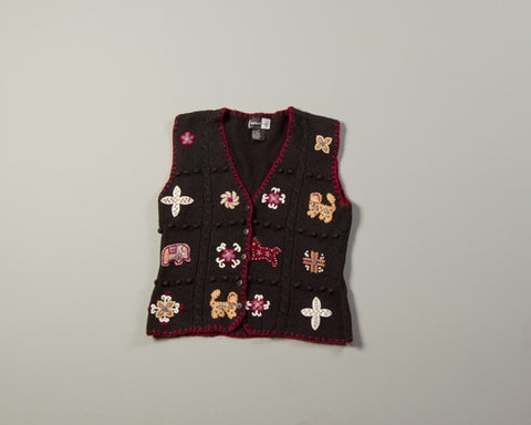 Decorative Pinwheels-Small Christmas Sweater