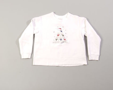 Snowman Xmas Tree-Small Christmas Sweater