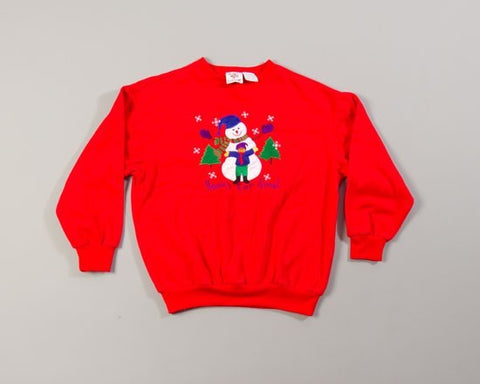 Hooray For Snow!-Small Christmas Sweater