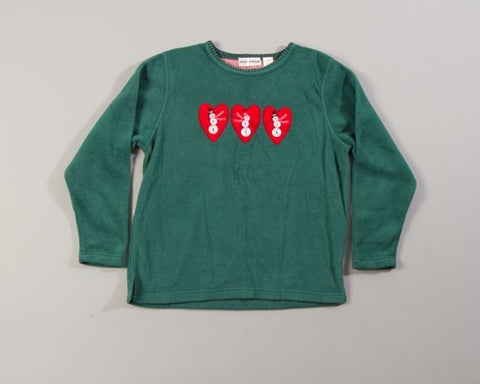 Hearts Of Snowmen-Medium Christmas Sweater