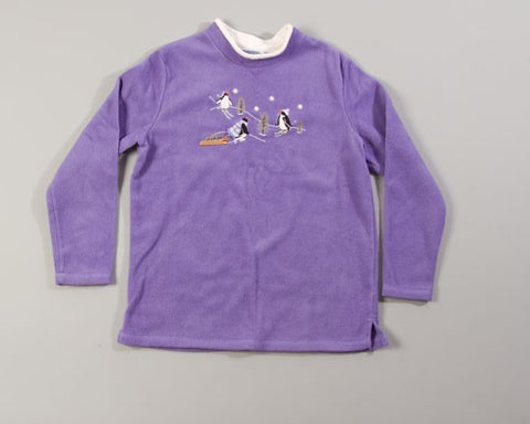 Purple People Eater-Large Christmas Sweater