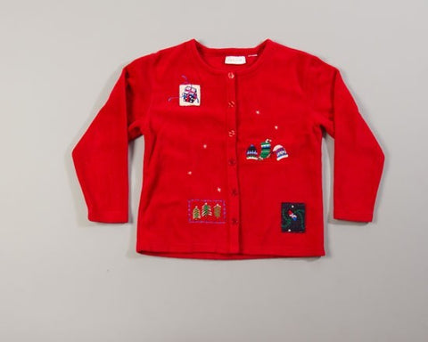 The Minimalist-Medium Christmas Sweater