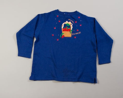 Cherries-XX-Large Christmas Sweater