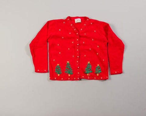 Four Christmas Trees-Small Christmas Sweater