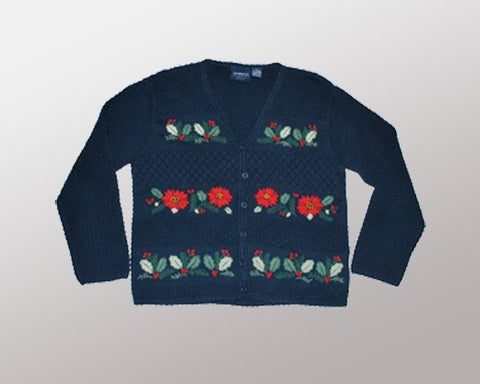 Flower Power-Small Christmas Sweater