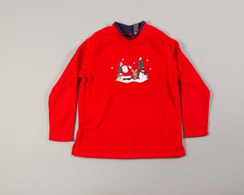 Santas Crew-Medium Christmas Sweater