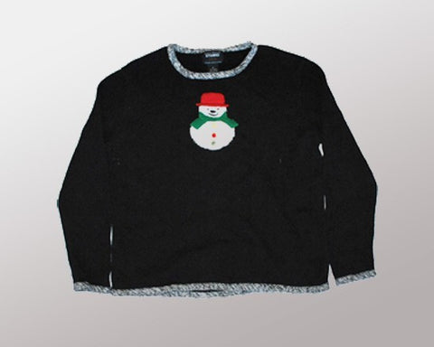Front and Center-Medium Christmas Sweater