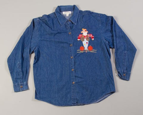 Jean Scarecrow-XX-Large Christmas Sweater+