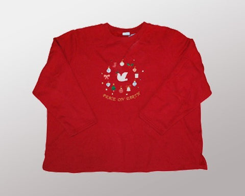 Peace on Earth-XX-Large Christmas Sweater
