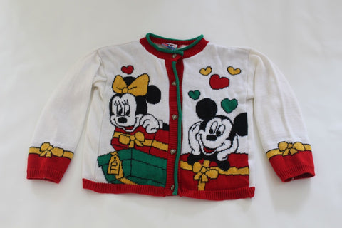 Mickey and Minnie Mouse, xsmall, Christmas sweater