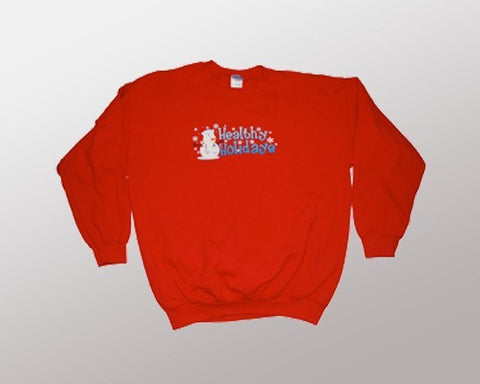 Healthy Holidays (Sweatshirt)-XX-Large Christmas Sweater+