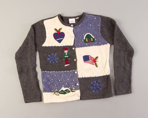 Nutcracker Christmas-X-Small Christmas Sweater