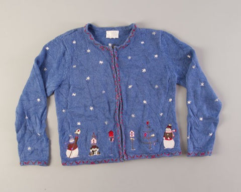 Hey Birdie Birdie Birdie-Small Christmas Sweater