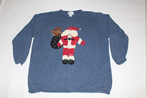 Two sides of Santa, XX Large, Christmas Sweater