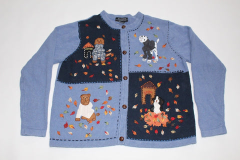 Sweater dogs,  Medium, Christmas sweater