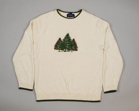 We Three Trees-Medium Christmas Sweater