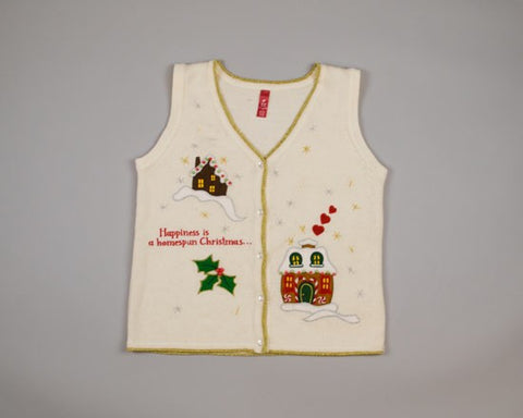 Homespun Christmas-Small Christmas Sweater