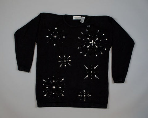 Black Beauty-Medium Christmas Sweater