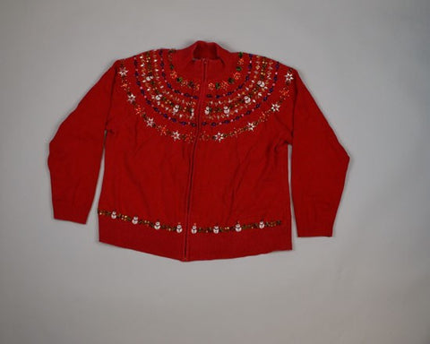 Bead Bonanza-Small Christmas Sweater