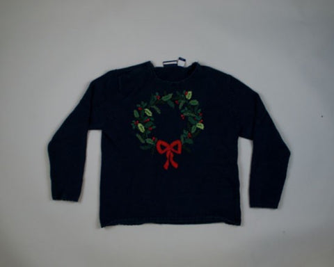 Radical Wreath-Small Christmas Sweater