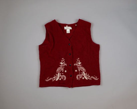 Partridges in Trees-Small Christmas Sweater
