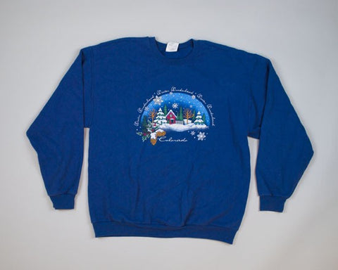 Winter Wonderland-Large Christmas Sweater