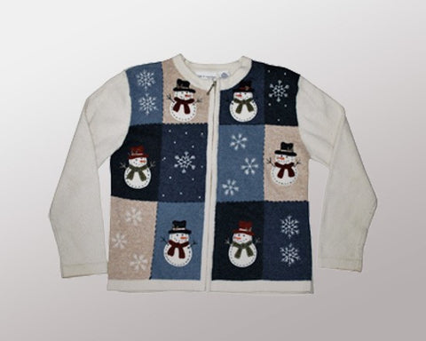 Mini Snowmen-Small Christmas Sweater