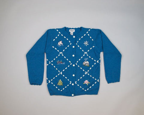 Quaint Christmas-Small Christmas Sweater