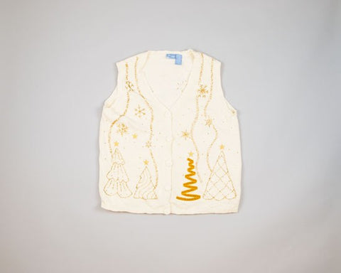Elegant Trees-Small Christmas Sweater