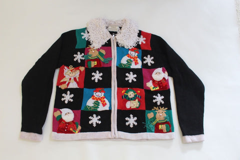Holiday Friends, Small, Christmas sweater
