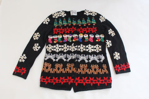 Horizonal Holiday,  Small, Christmas sweater